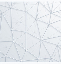 modern abstract polygonal space background vector image vector image