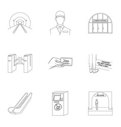 Movement electric transport and other web icon in vector