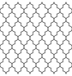 Ornamental arabic seamless pattern vector