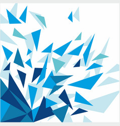 abstract geometric mosaic light background vector image vector image