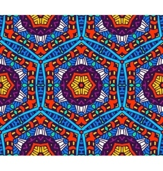 abstract vibrant seamless pattern vector image vector image