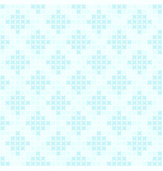 cyan diamond pattern seamless vector image vector image