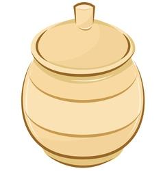 Honey for pot vector