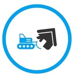 House demolition icon vector
