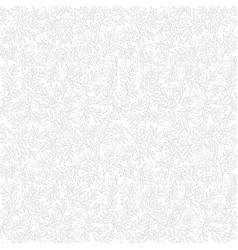 light lace floral seamless pattern vector image vector image