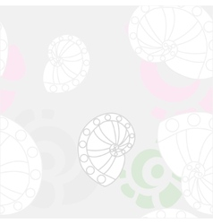 Sea shells background 2 vector