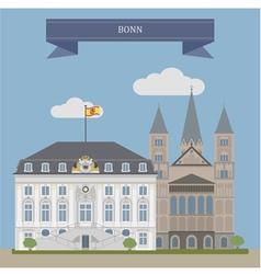 Bonn vector image