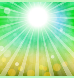 abstract sun background vector image