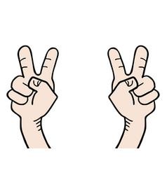 Celebration hand vector