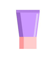 cream tube isolated tuba cosmetics on white vector image vector image