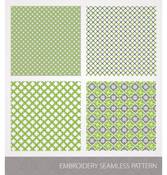 Embrodery pattern vector