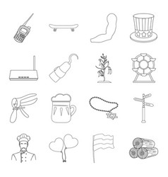 food sport sanitary ware and other web icon in vector image