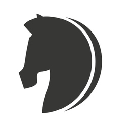 horse animal equine icon vector image vector image