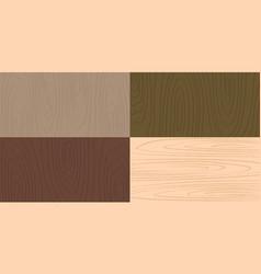 wooden background flat design vector image vector image