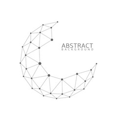 abstract globe shape vector image