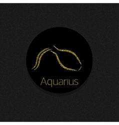Aquarius Zodiac sign vector image