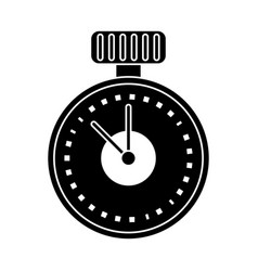 Chronometer time sport tool pictogram vector