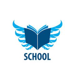 Logo school vector