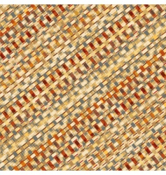 Basketry weave vector