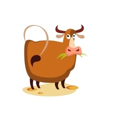 Cow Flat vector image vector image