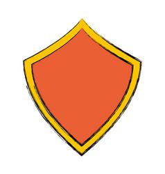 Security web padlock shield vector