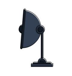Satellite dish icon image vector