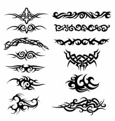 tribal artworks vector image