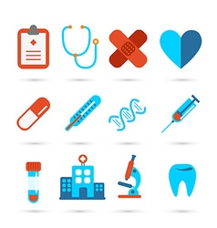 Medical health care icon vector