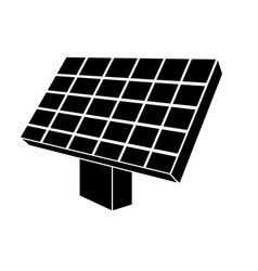 Contour solar energy element to ecologycal care vector