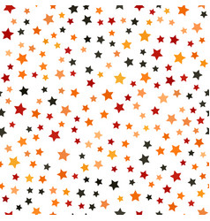 Five-pointed star chaotic pattern seamless vector
