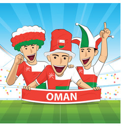 Oman football support vector
