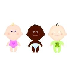 children kids cute clothes vector image