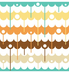 Liquid seamless pattern vector