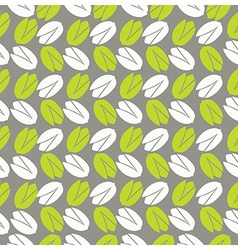 Leavesfruits and flowers seamless pattern vector