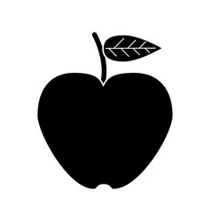 apple lose weight healthy food vector image