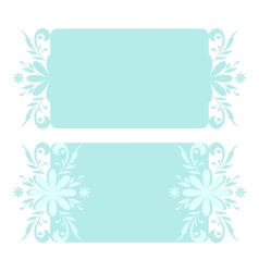 Christmas floral pattern vector image vector image