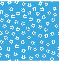 David star hanukkah seamless pattern vector