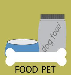 Feed pet icon design vector image vector image