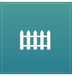 Fence icon - vector