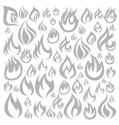 Fire a background vector image