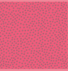 seamless simple pattern with circles vector image