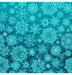 Seamless snow flakes pattern vector