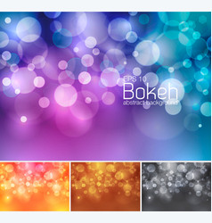 Blur and unfocused abstract background vector
