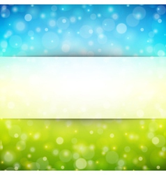 Abstraction light background vector image vector image