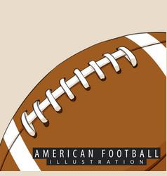 ball for american football vector image vector image