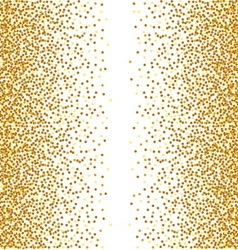 Abstract golden confetti background vector