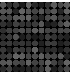 Abstract grey circles seamless pattern background vector image