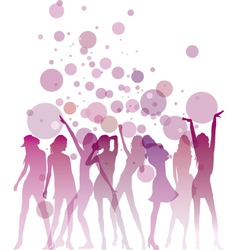 Ladies night vector