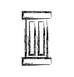 Pillar icon image vector