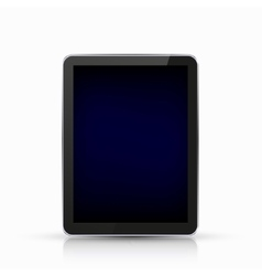 modern realistic computer tablet vector image